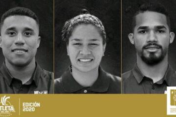Tres vinotintos nominados a mejor atleta del año 2020