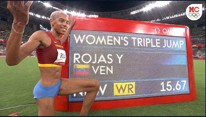 Sebastian Cano Caporales Yulimar Rojas gano una dorada olimpica para Venezuela 3 - Sebastian Cano Caporales: Yulimar Rojas ganó una dorada olímpica para Venezuela