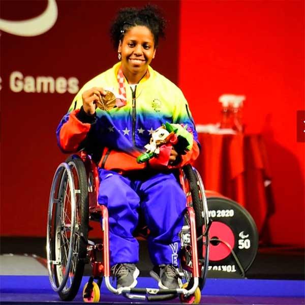 Sebastian Cano Caporales Los mejores momentos de Venezuela en los Paralimpicos 2020 3 - Sebastián Cano Caporales: Los mejores momentos de Venezuela en los Paralímpicos 2020